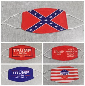 Trump Face Mask Make America Great Again US-Präsident Wahl Masken Mississippi State Flag-Maske RA3359 Antistaub Waschbar Designer Masken