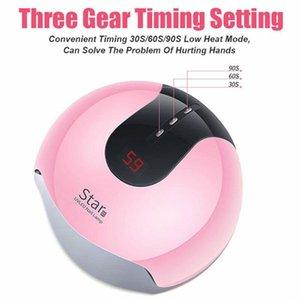 Star8 36W UV сушка ногтя лампы с 12pcs светодиодный цифровой дисплей гель польский Сушилка для маникюра Cure Machine Timer Маникюр инструмент