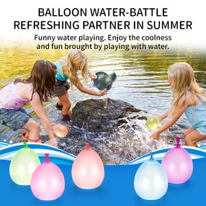 Latex Colorful Water balloons 111pcs easy filling Outdoor summer beach Children toys Party toys Funny entertainment