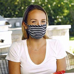 face mask men women fashion cotton reusable face masks adult black yellow buckle mask ameircan flag anti dust fog mouth masks