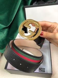 Best quality brand letter buckle women designer belt with box genuine leather belts women classic men luxury belts free shipping 5478 009