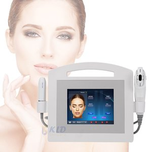 2020 Portable 2in1 Anti-aging hifu machine skin tightening wrinkle removal machine for face lift  high intensity focused ultrasonic machine