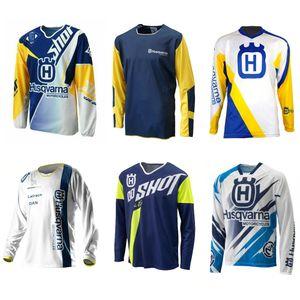 2020 Husqvarna Enduro Motocross Jersey fuera de la carretera MX DH MTB de manga larga de la motocicleta bici de la suciedad camiseta de Jersey