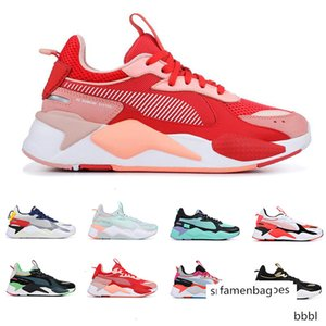 Hot RS-X Reinvention Toys Transformers men women running shoes BLUE ATOLL BRIGHT PEACH mens trainers fashion sports sneakers size 36-45
