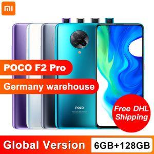 """Version globale Xiaomi POCO F2 Pro 128 Go ROM 6 Go RAM Smartphone Snapdragon 865 Octa core 4700mAh 64MP Caméra 6,67"""" écran NFC"""