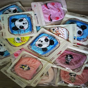 character Designer Masks kids Washable Reusable Cloth face Mask Individual Package Individual package Fashion Mouth face mask DHL