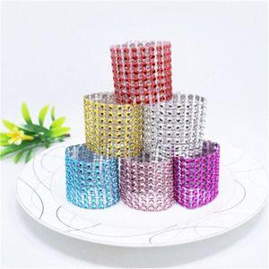 20pcs lot Multicolor Napkin Ring Wedding Event Decoration Napkin Holder Party Banquet Table Decoration Accessories home decor KwMT#