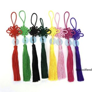 Lucky Cute Chinese Knots Pretty Jade Decor DIY Plait Handicraft Hanging Accessories Fashion Interior Decorations Gifts