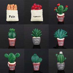 Air conditionné Vent parfum clip Résine Cactus Creative Mignon Désodorisant parfum clip solide Décoration Ornements VISM #