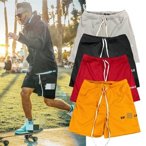 FEAR OF GOD FOG mesh breathable five-point pants ESSENTIALS basketball fitness leisure sports running beach shorts men and women