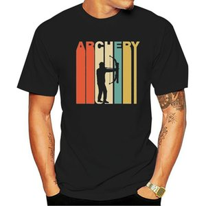 Vintage Retro 1970'S Style Archery Bow And Arrow Archer T-Shirt ?Casual Print Fashion Tee Shirt