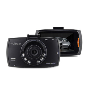 100PCS 2,4 pollici Car Electronics registratore di guida di macchina fotografica dell'automobile DVR G30 HD 1080P 140 gradi dash cam video cancellieri per le automobili di visione notturna