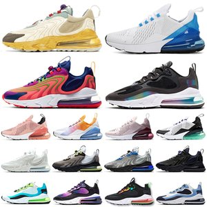 air max 270 react ENG stock x travis scott hommes femmes chaussures de course Bauhaus Safari triple noir blanc Fossil hommes femmes formateurs sports sneakers runners
