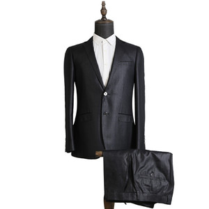 Men's Suits & Blazers Wedding Dress For Men Formal Wear Jackets+Pants High Quality Suiits Clothing Male Suit Jackets Size 3XL