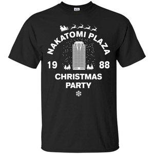 Накатоми Plaza Christmas Party 1988 Pop Culture Футболка унисекс