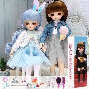 Presentes Bjd boneca 30CM para Menina 18 Juntas DIY Dolls com roupas melhores presentes para a menina Handmade Beleza Toy 1/6 BJD presente de aniversário de Natal