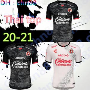 20 21 Xolos Club Tijuana Soccer Jerseys Home Away 2021 2020 Sanvezzo Miller Camisetas المكسيك Liga MX Man Kids Football Shirt تايلاند