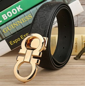 New Fashion Mens Business Belts Ceinture Automatic Buckle Genuine Leather Belts For Men Waist Belt Free Shipping