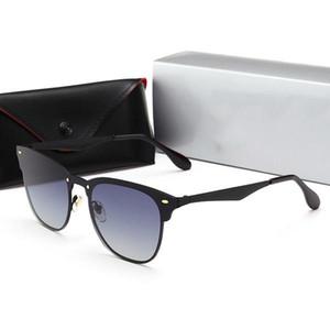 2020 Ray Ban interdiction Marque lunettes de soleil polarisées Hommes Femmes Pilot UV400 Lunettes 3576 Lunettes Wayfarer Metal Frame Polarized Lunettes de soleil noIg #