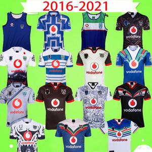 2020 2021 Vest Ärmel NEUSEELAND WARRIORS RUGBY JERSEY Retro Herren Super-Rugby 2016 2017 Vintage-Jersey-Shirt Top-Qualität Neuseeland
