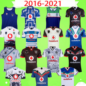 2020 2021 Vest mangas NOVA ZELÂNDIA WARRIORS RUGBY JERSEY retro Mens Super Rugby 2016 2017 vintage Jersey camisa de alta qualidade Nova Zelândia