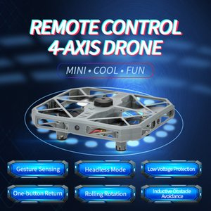 2020kids fun toys intelligent induction remote control aircraft toy remote control 4-axis drone rc Quadcopter kids gifts