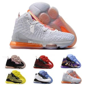 High Quality James What the XVII 17 Basketball Shoes 17s Media Day LeBron Palmer Fruity Pebbles Red Carpet Kids Women Mens Sneakers US4-12