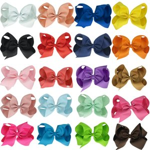 Girls' Head Pieces Boutique Hairs Clip Headware Kids Hair Accessories Ribbon Bows Clips Hairpin Custmize Wholesale