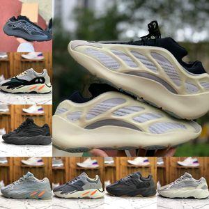 Kanye West 700 Inércia Running Shoes baratos Vanta 700 V3 Alvah Azael 3M reflexiva Ímã V2 Névoa Estrangeiro Homens Mulheres Runner Trainers externas