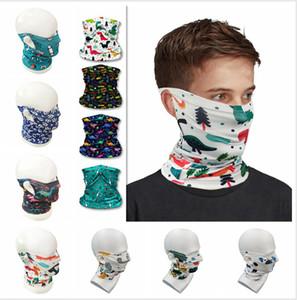Kid банданы шарф Магия лицо шея Gaiter пробка пыл Бандан 10 цветов Половина лицо шарфы для детей Отдыха на природе Велоспорт Аксессуары LJJP190