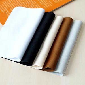 White Suede sacchetto dello specchio accessori per cellulari ultra-sottile fibra di telefonia mobile accessori occhiali panno di stoffa set bicchieri bag