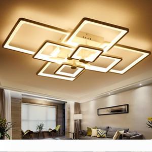 Led Light Современные светодиодные Потолочные светильники 110V 220V для гостиной Luminaria светодиодных светильников Спальня Крытый Главная Декабре Потолочные светильники