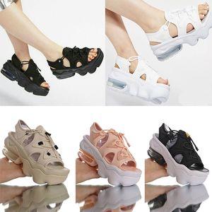 2020 Girls Chunky Kokos Sandal Black Anthracite White Metallic Gold White Metallic Platinum Pink Summer Sandals