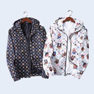 2020 Men's women Jacket Casual Thin Hooded Jacket Wind Breaker Autumn winter Hoodies Men Outdoor Wear Classic letter printing mens designer