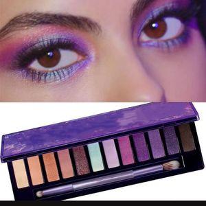 UltraViolet eye shadow 12 color eyeshadow palette makeup eyeshadow Shimmer Matte Beauty eye makeup palette DHL free ship
