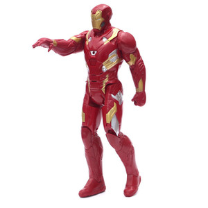 2016 12 30Cm Super Hero The Avengers Thor Spider Man Iron Man Captain America Ultron Wolverin Pvc Action Figure Toys 12 30Cm Super home2010