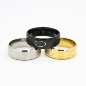 New Arrival COOL 316l Stainless Steel Batman Designer Rings Titanium Steel Rings For Women and Men Gold Black Silver Can be Mixed