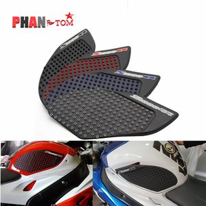 Motorcycle Tank Traction Pad Side Gas Knee Grip Protector Anti slip sticker for BMW S1000RR 2009 - 2016 2010 2011 2013