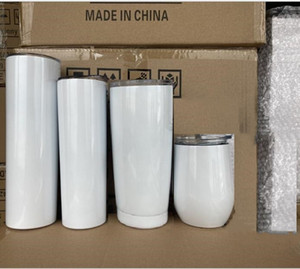 In Stock 30 20 12 10oz travel stainless steel cup 304 vacuum tumbler wine glass mug lid car tumbler cup DHL free shipping