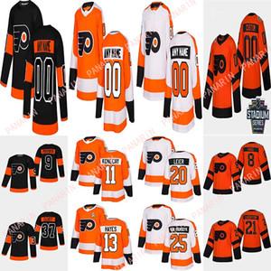 Personalizados para hombres para hombre Filadelfia folletos camisetas Carter Hart Hayes Giroux Lindros Konecny Personaliza cualquier número Cualquier nombre Hockey Jersey