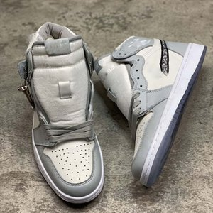 With box 2020 Officially revealed anniversary collaboration Grey White French fashion style label Kim Jones Sneaker shoe size36-