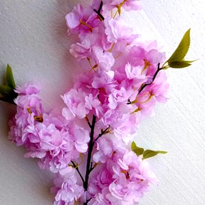 Hot Selling Artificial Four-pronged Cherry Blossom