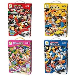 الجملة أطفال 1000 طوب قطع كتل البناء كلاسيكي الإبداعية ألعاب تعليمية للأطفال DIY هدية مع صندوق البيع بالتجزئة