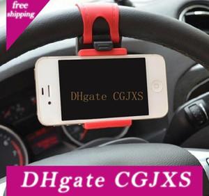 Steering Wheel car Phone Holder soquete Gps Levante Painel ajustável Suporte Suporte de montagem