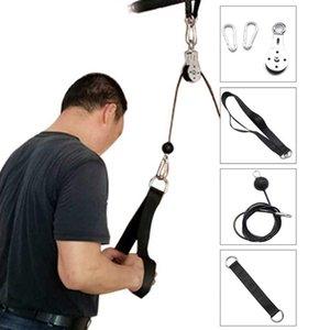 Durevole avambraccio polso Trainer rimovibile Forza Trainning muscolare Equipment Training tricipiti tirare giù Stretch Arm Apparatus