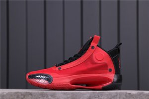 New arrivals 34s top quality fashion Jumpman mens basketball shoes colourful ice silk breathable Sneakers size 40-46