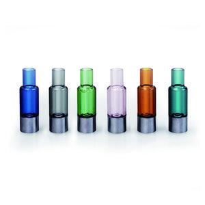 Vidro Vape Cartucho Vape Pen Kit Vtank-X de vidro Tip Tube chaminé 0,3 ml 0,5 ml cerâmicos Aquecimento recarregáveis Vape Cartucho 280mAh USB Battery