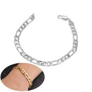 Creative Women Men Bracelet Fashion Stainless Steel Curb Cuban Chain Bracelet & Bangle Male Accessory Hip Hop Party Jewelry