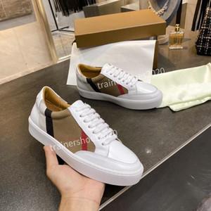 Высокое качество Оптовая противоскользящие Chaussures Модельер обувь Кроссовки White Black Dress тапки bbr200707