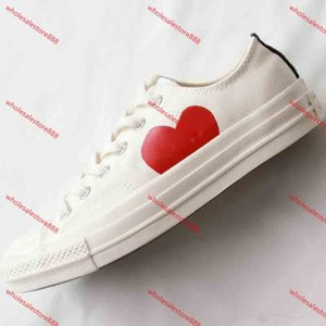 xshfbcl Hot Sale Men 1970s Big Eyes Play Chuck 70 Multi Heart 70s Hi Canvas Shoes Classic 1970 Jointly Name Skateboard Trainers Women Sport